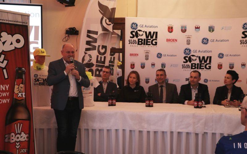 Sowi Bieg – konferencja prasowa